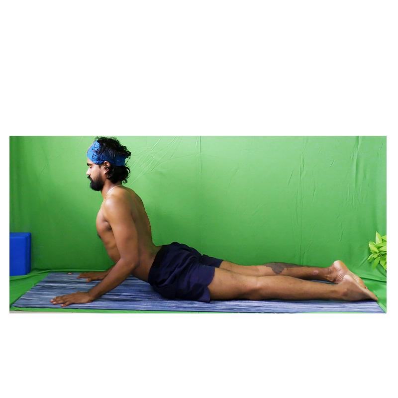 back bending posture to alleviate bcj pain is bujangasana